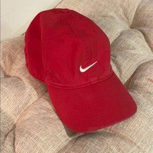 Nike Red Adjustable Hat